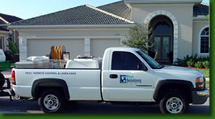 Pest Solutions Plus Service Truck